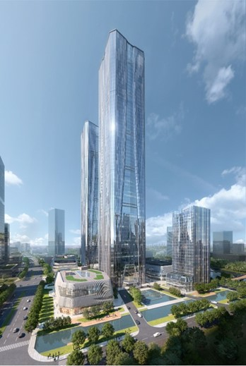 Otis China wins high rise tower project in Shanghai