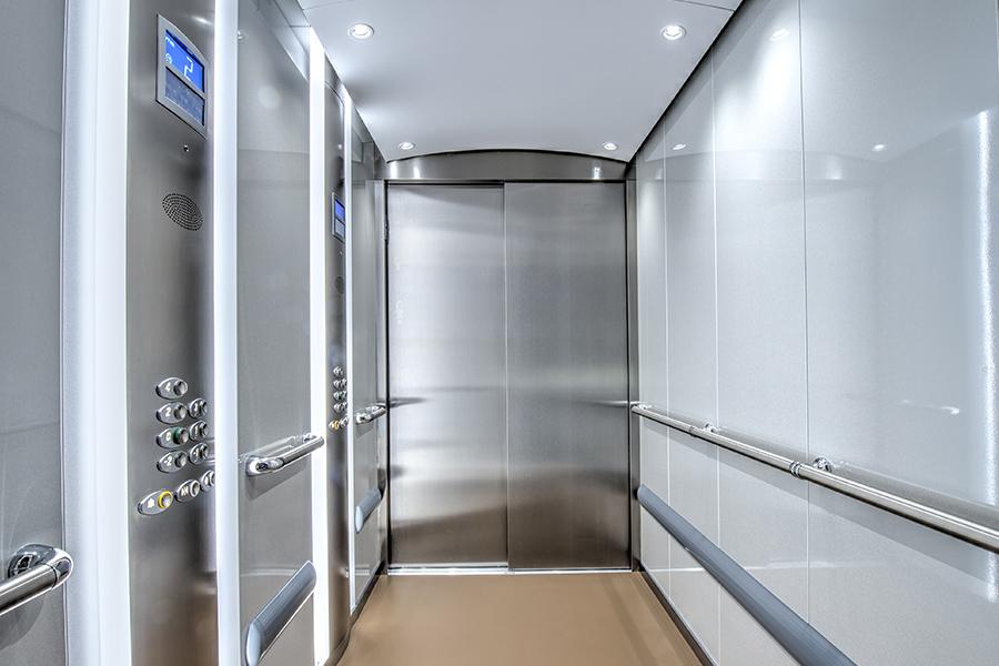 Gen2StreamHealthcare-inside-otis-elevator