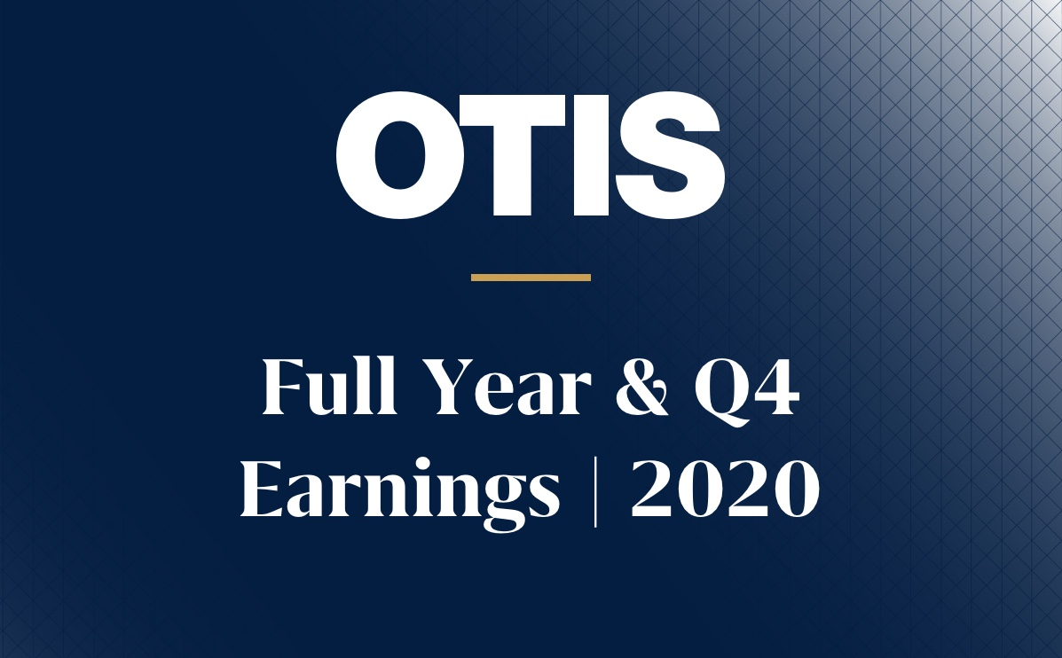 Otis Logo fourth quarter earnings results