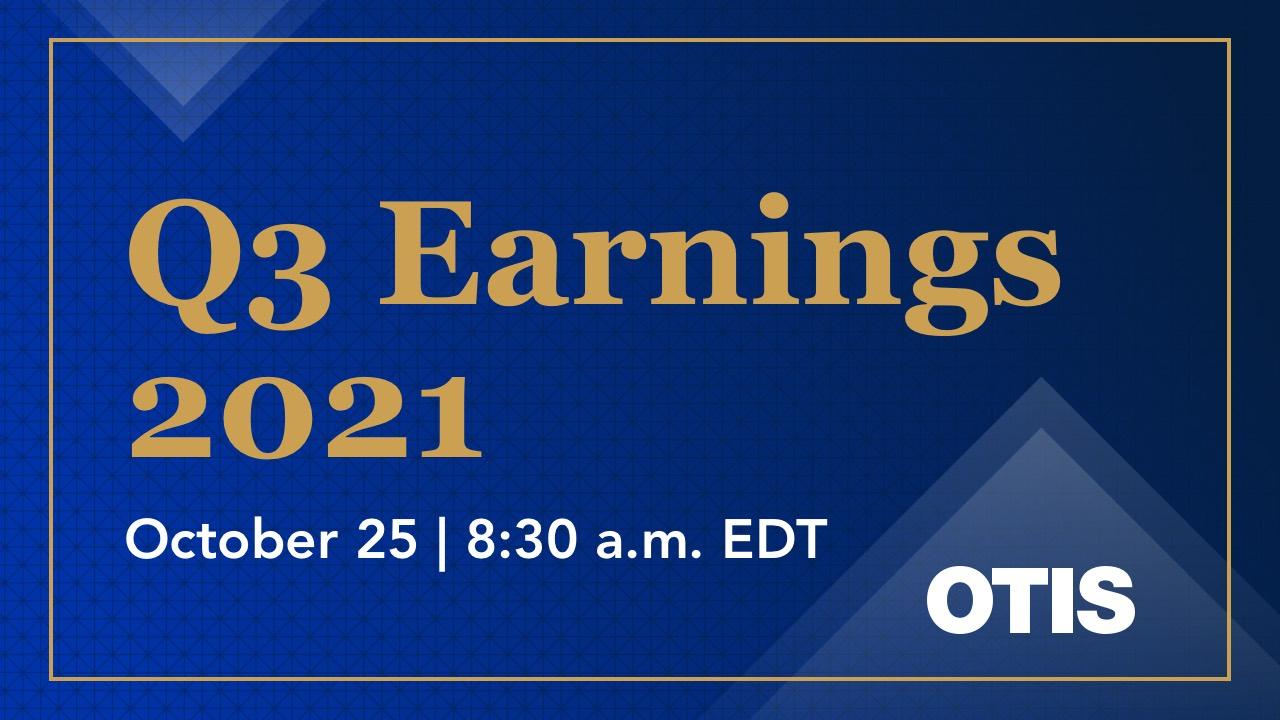 Otis_Q3_earnings_advisory_2021
