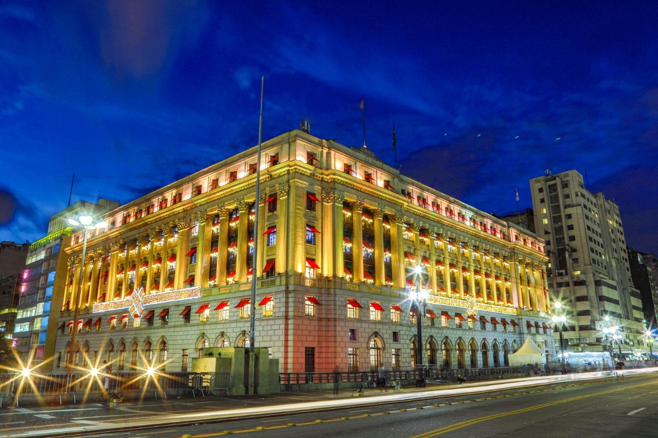 São Paulo's historic Shopping Light building.