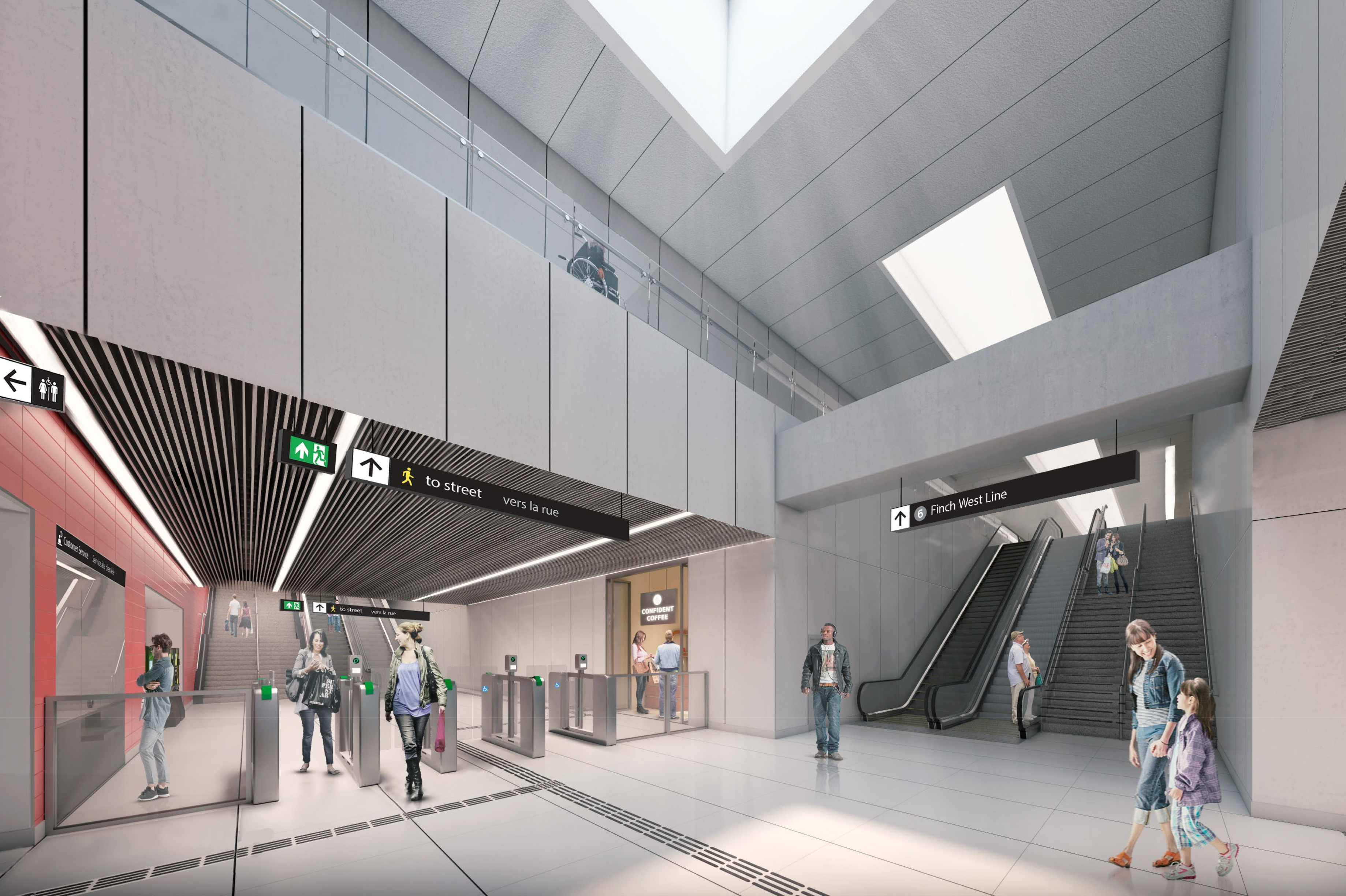Otis Provides Hundreds of Elevator, Escalator Units for Rail Projects in 3 Canadian Cities