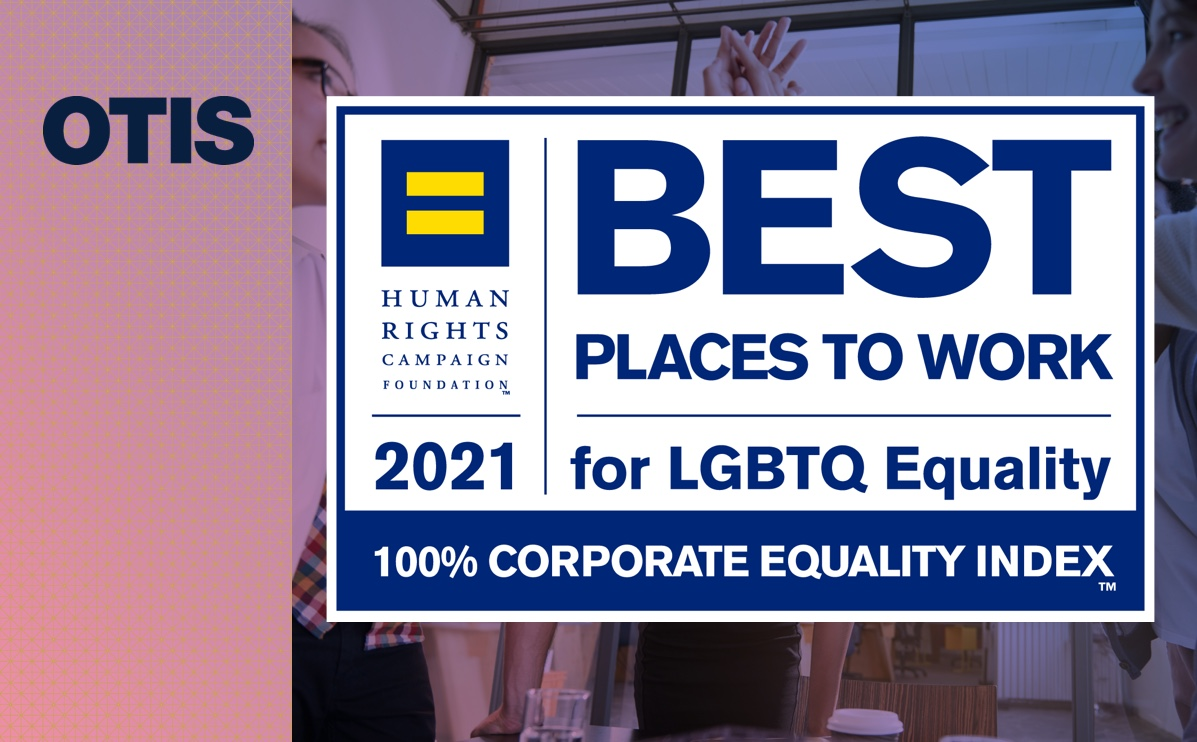 """Otis Earns """"Best Places to Work for LGBTQ Equality"""" Recognition"""
